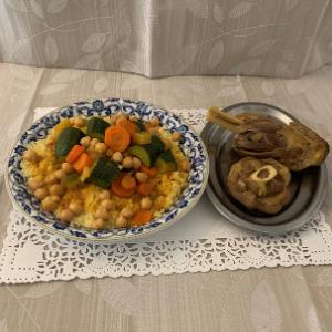 Couscous Ragoût d'Agneau